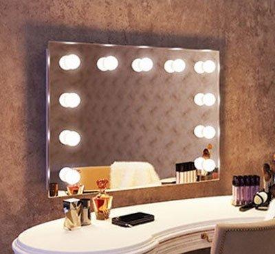 Make up theater spiegel voor professioneel of thuis gebruik