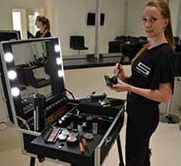 Professionele make up koffer met verlichting